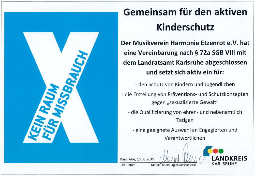 Zertifikat Jugendamt Kinderschutz